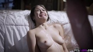 crying exploited stepdaughter kendra spade drenched in sperm