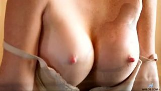 Licious Gia's creamy cunt dripping with pleasure