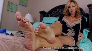 Newly Owned Foot Slave with Goddess Brianna