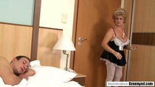 Sexy French Maid Effie Finds s. Beauty Boy